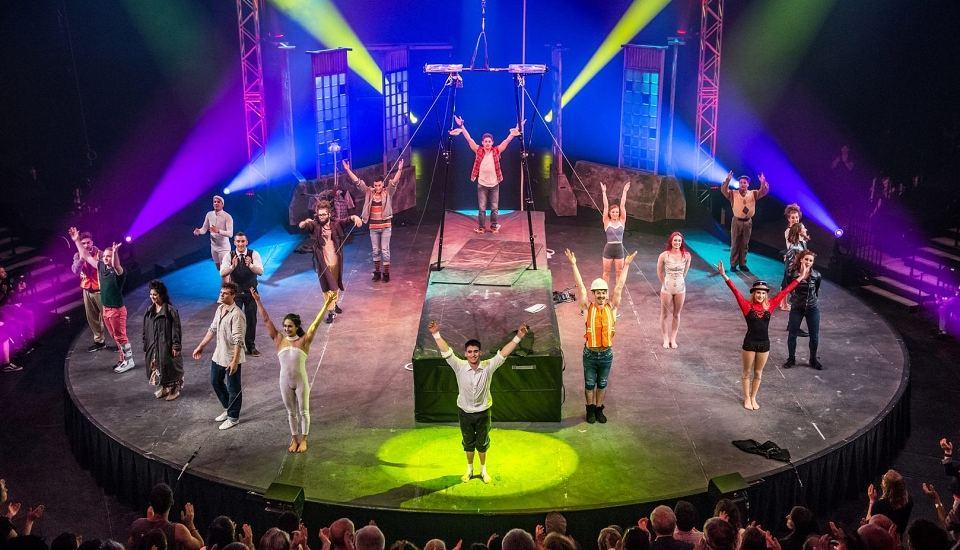 Les finissants de l'École nationale de cirque – cuvée 2017