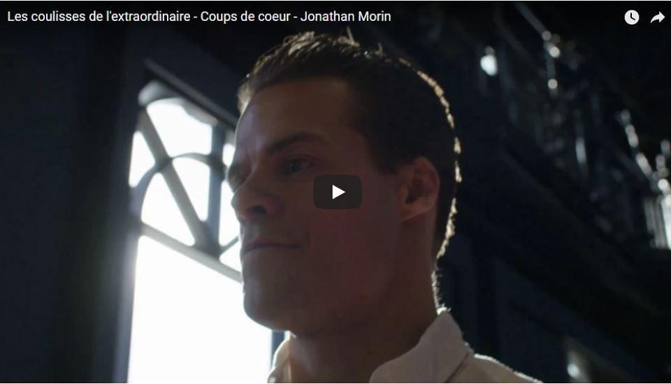 En coulisses avec Jonathan Morin