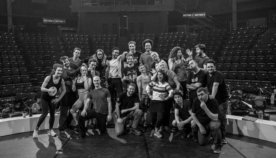 Dans les coulisses de l'Impro Cirque avec Benoit Leroux