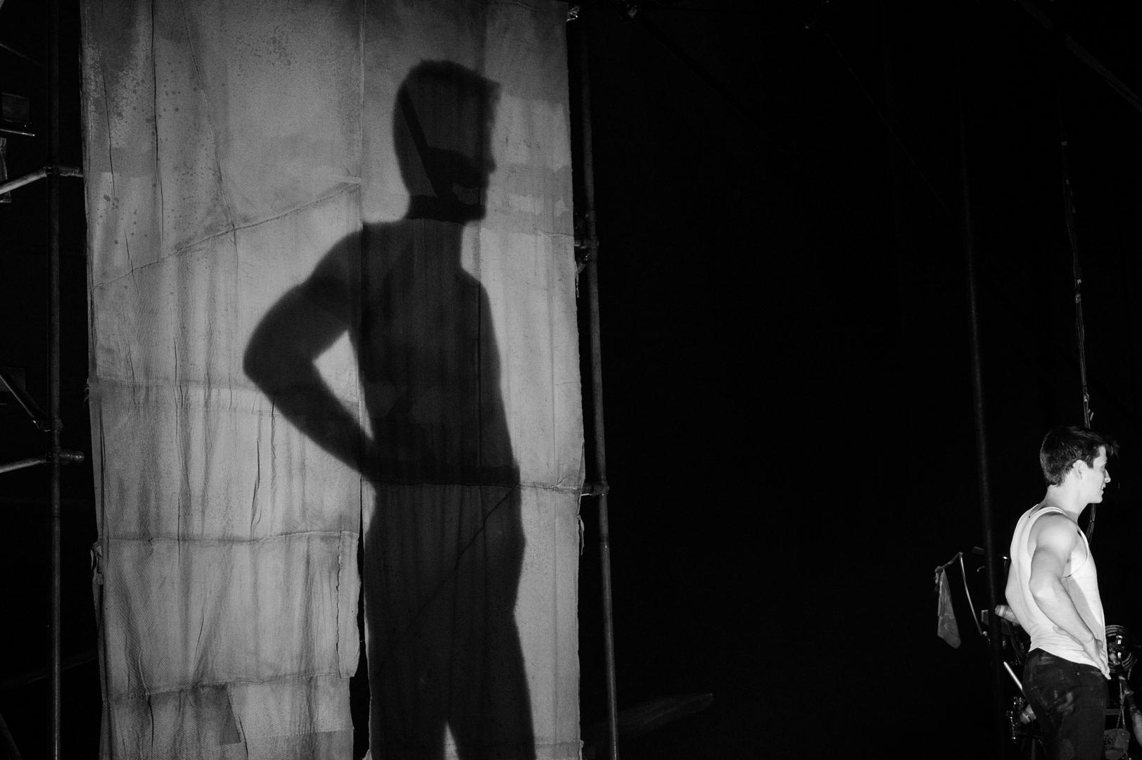 Machine de Cirque dans la lentille de…Chantal Lévesque