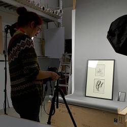 6. La photographie Un studio photo a été...