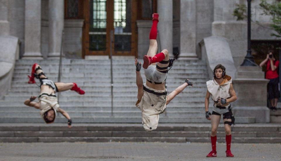 Les Minutes Complètement Cirque et le public